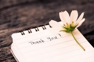 thank you-note