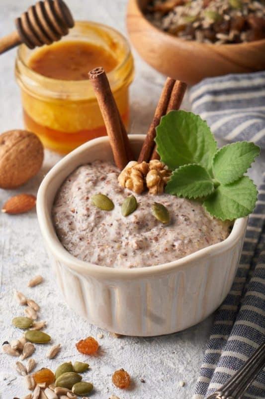 porridge ayurvédique en automne et hiver